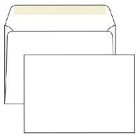 Конверт бумажный С5 (162*229) белый с силиконовой лентой