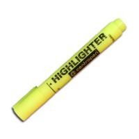 "Маркер текстовый  ""Centropen"" 8852 Fax 5мм скошеный толстый желтый"