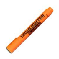 """Маркер текстовый """"Centropen"""" 8852 Fax 5мм скошеный толстый оранжевый"""