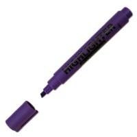 """Маркер текстовый """"Centropen"""" 8852 Fax 5мм скошеный толстый фиолетовый"""