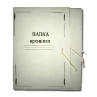 """Папка картонная  А4  на 4 завязках """"Архивная"""" 0.5мм (Украина)"""