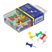 """Кнопки силовые """"BuroMax"""" 5150 , в пластиковой упаковке, 50шт"""