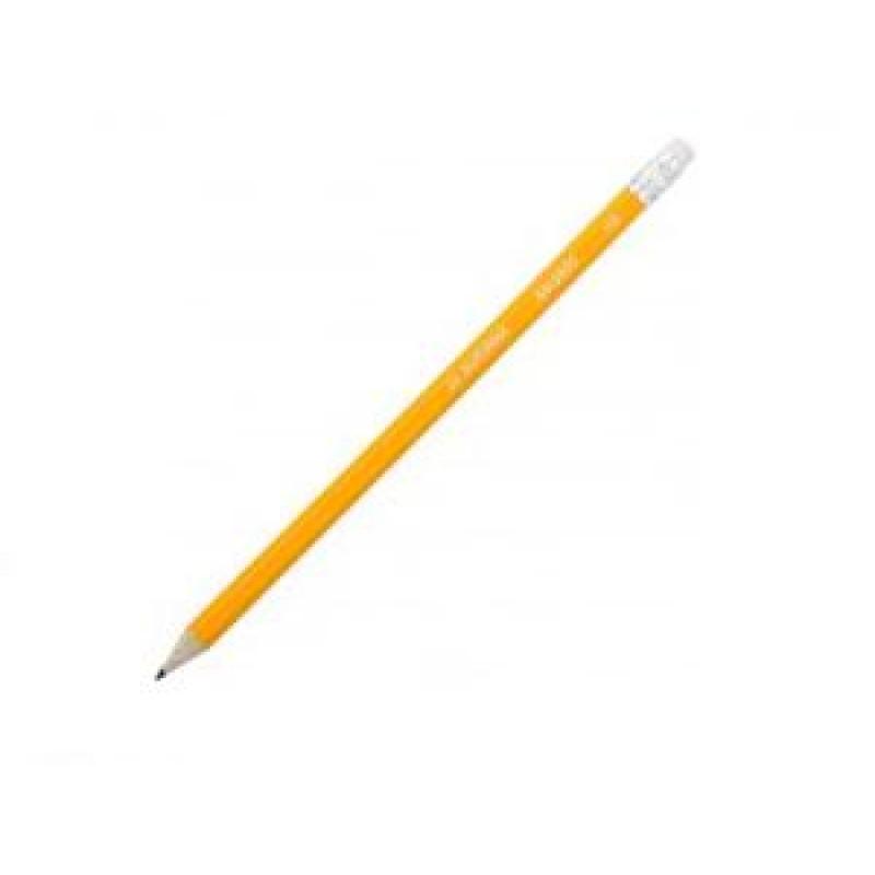 "Карандаш ""BuroMAX""  8500 (НВ) с/ласт. желт."