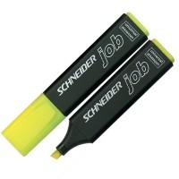 "Маркер текстовый ""Schneider"" S1505 ""JOB 150"" скошенный желтый"