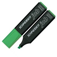 "Маркер текстовый ""Schneider"" S1504 ""JOB 150"" скошеный зеленый"