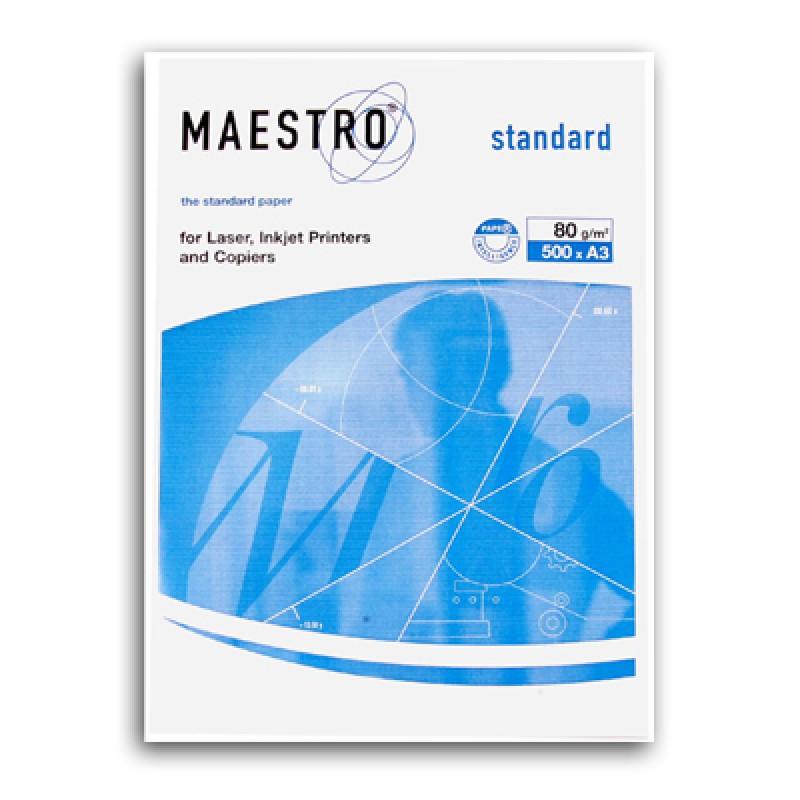 "Бумага А3/80 500л.""Maestro Standard"" (класс С)"