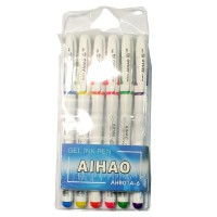 """Набор гелевых ручек """"AIHAO"""" 801 (6цветов)"""