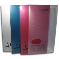 "Визитница ""Economix"" E30303 110х250 (пластик) 128 визиток"