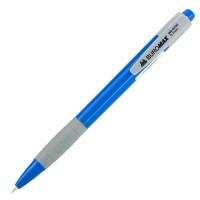 """Ручка шариковая """"BuroMAX"""" 8202 автоматическая (0,7) синяя"""