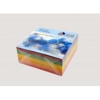 """Куб для записей """"Классика"""" 85х85х400л цветной клеенный"""