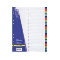 """Разделитель пластиковый """"ВuroМax"""" 3216 (1-31) разделов,цветной"""