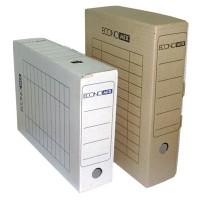 """Короб архивный картонный сборный  """"Economix""""  Е32701  80мм"""