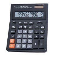 "Калькулятор ""Citizen"" SDC-444S 12разрядный , 199х153"