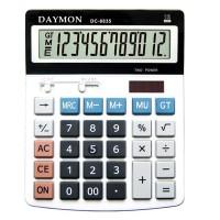 "Калькулятор ""Daymоn"" DС-777 WH, 12 разрядный, 190х150 белый"