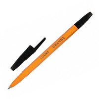 """Ручка шариковая """"Economix"""" Оrange Е10138-01 (0,5) черная"""