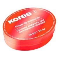 """Подушка для смачивания пальцев гелевая """"Kores"""" 32616, 15мл."""