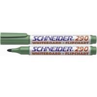 """Маркер ддя доски """"Schneider"""" 290  (3мм) зеленый"""