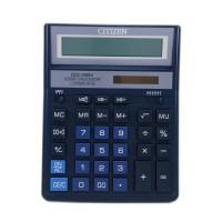 "Калькулятор ""Citizen"" SDC-888 XBL, 12 разрядный, 160х200, синий"