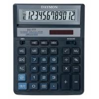 "Калькулятор ""Daymоn"" DС-777 BK ,12 разрядный, 190х150 черный"