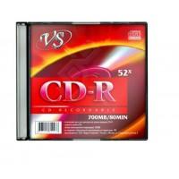 """Диск CD-RW """"VS"""" (slim)"""