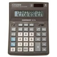 """Калькулятор """"Citizen"""" Correct D-314 14разрядный бухгалтерский 155х205"""