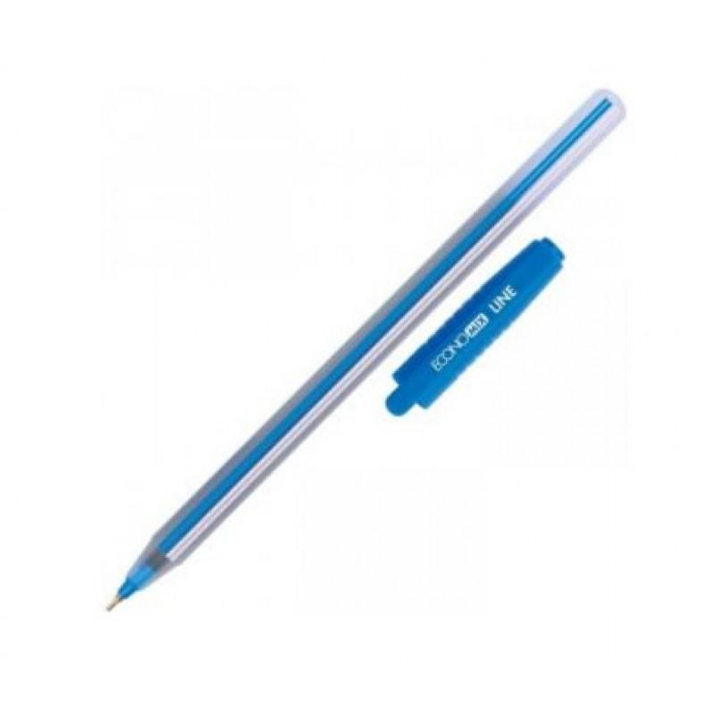 """Ручка шариковая """"Economix"""" Line Е10196-02 (0,7) синяя"""