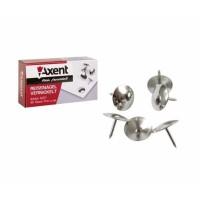 """Кнопки """"Axent"""" 4201, (50шт) никелированные"""