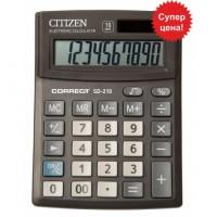 """Калькулятор """"Citizen"""" Correct SD-210 10разрядный бухгалтерский 103х138"""