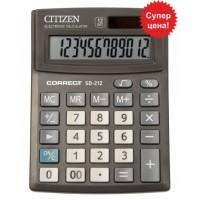"""Калькулятор """"Citizen"""" Correct SD-212 12разрядный бухгалтерский 103х138"""