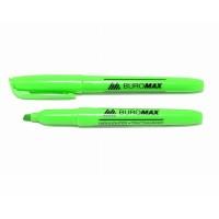 """Маркер текст. (3мм) """"Buromax"""" 8903-504 скошен. зеленый"""