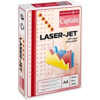 "Бумага А4/80 500л. ""Captain"" Laser Jet (класс А)"