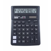 """Калькулятор """"Brilliant"""" BS-0333, 12 разрядный бухгалтерский,142x195мм"""