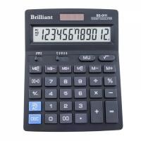 "Калькулятор ""Brilliant"" BS-0111, 12 разядный бухгалтерский, 140x175мм"