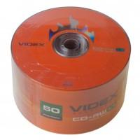 """Диск CD-RW """"Videx"""" 80min (bulk 50)"""