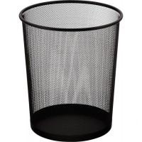 Корзина д/бумаг метал., BuroMAX 6270-01, черн.