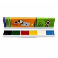 """Акварель """"ZiBi"""" 6500 6цветов, без кисточки картонная упаковка"""