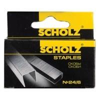 """Скобы N24/6 """"Scholz""""4721"""