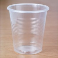 Стаканы пластиковые 180мл прозрачные (100шт.)