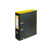 """Сегрегатор  """"BuroMax"""" А4/70 Style 3005-08 желт/черн"""