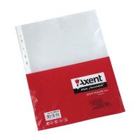 """Файлы А4+ глянц. 90мкм (20шт) """"Axent"""" 2009-20"""