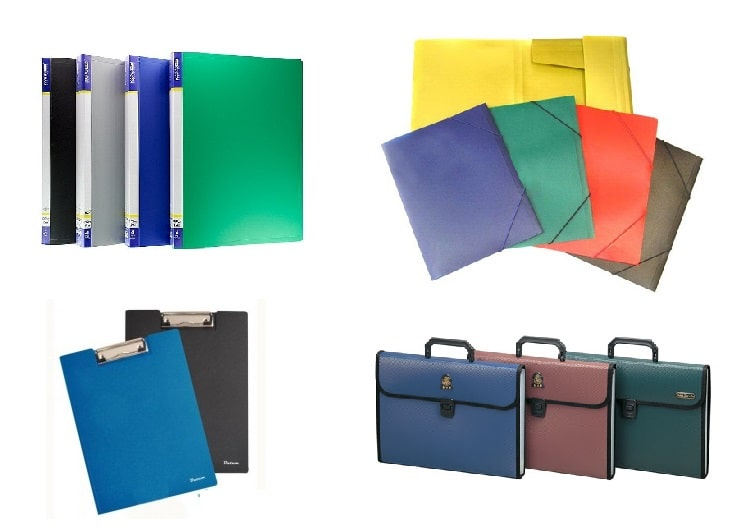 Папки пластиковые, портфели, клипборды (46)