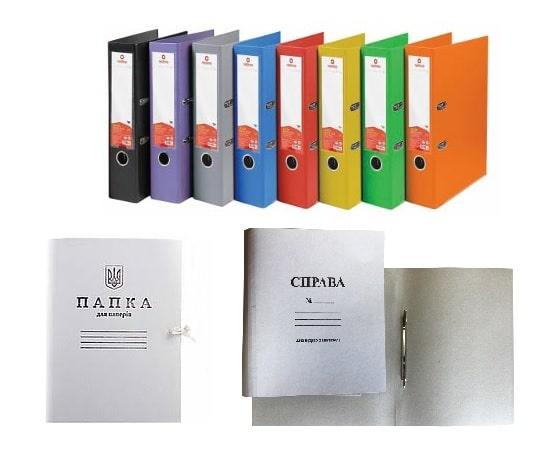 Папки картонные, сегрегаторы, архивные (65)